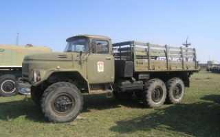 Схемы ЗИЛ-131 — грузовой автомобиль